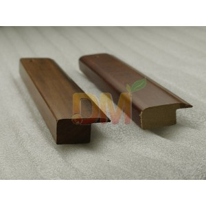 wooden End Cap molding Flooring Edge Trims for solid wood floors
