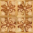 custom made art parquet floors