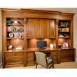 Classic style home office cabinetry