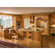 glazed mocha color kitchen cabinets for home decor
