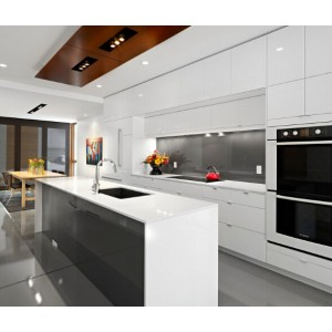 modern high gloss kitchen cabinet furniture