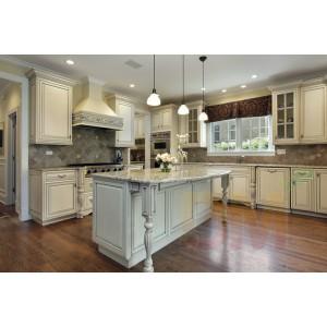 China Decor Wood Wooden Kitchen Cabinet And Versailles Parquet ...